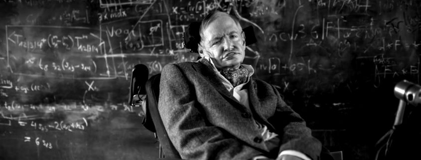 Photo du professeur Hawking